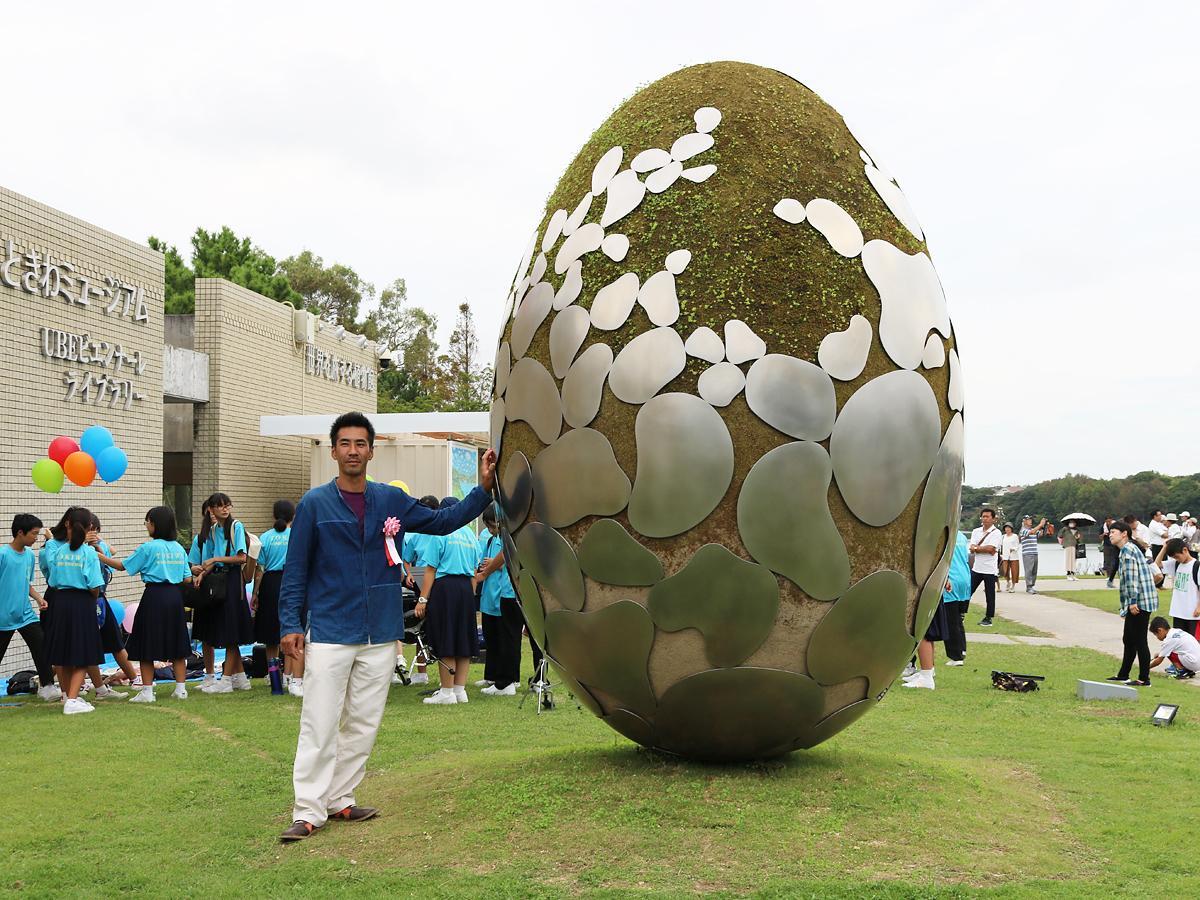大賞を受賞した三宅之功さんの作品「はじまりのはじまり」