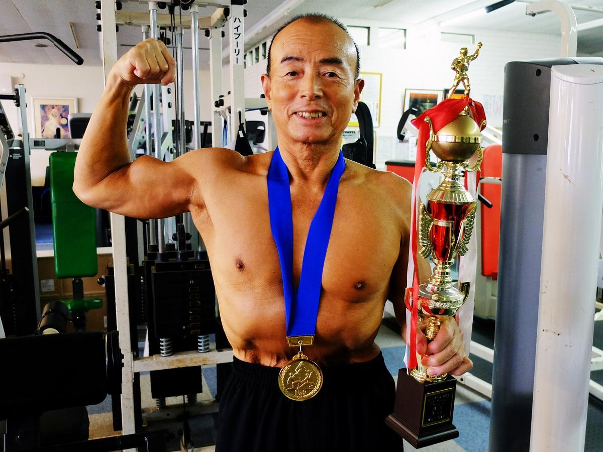 矢田部さんは「やっぱり金メダルがいい」と2度目の優勝を喜ぶ
