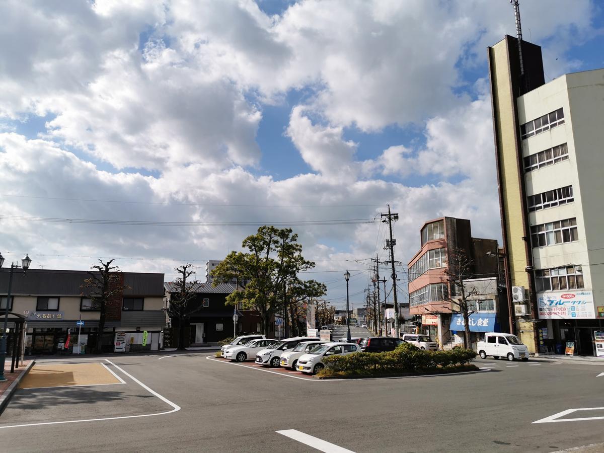 ふれあい祭りが開かれるJR小野田駅周辺