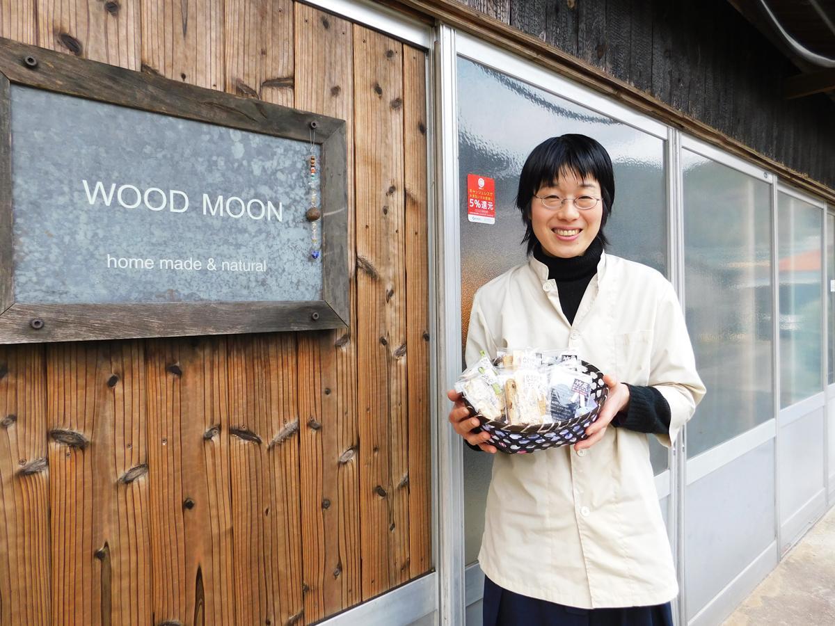「『おいしい感動』を多くの人と共有したい」と話す月森紀子さん