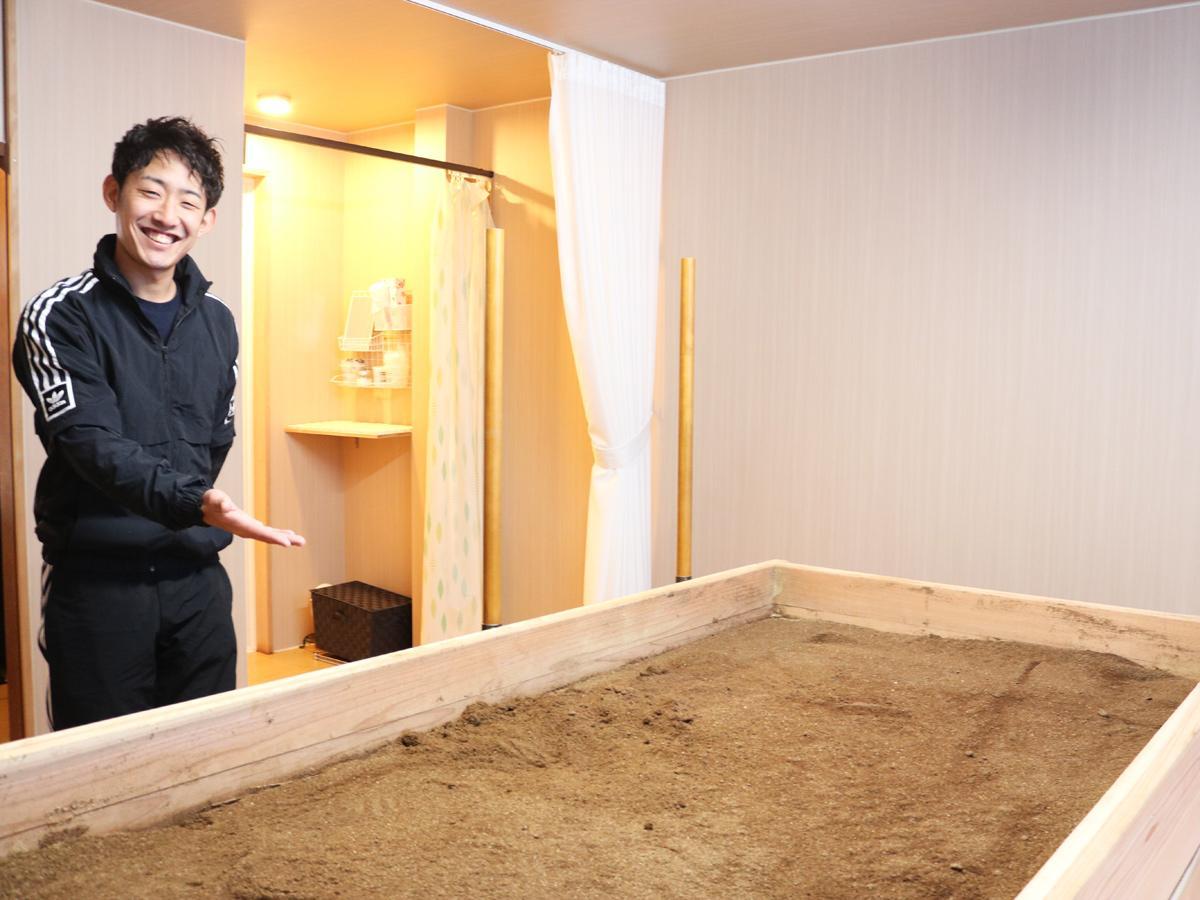 「のんびりくつろげる場所にしていければ」と店長の廣橋由樹さん