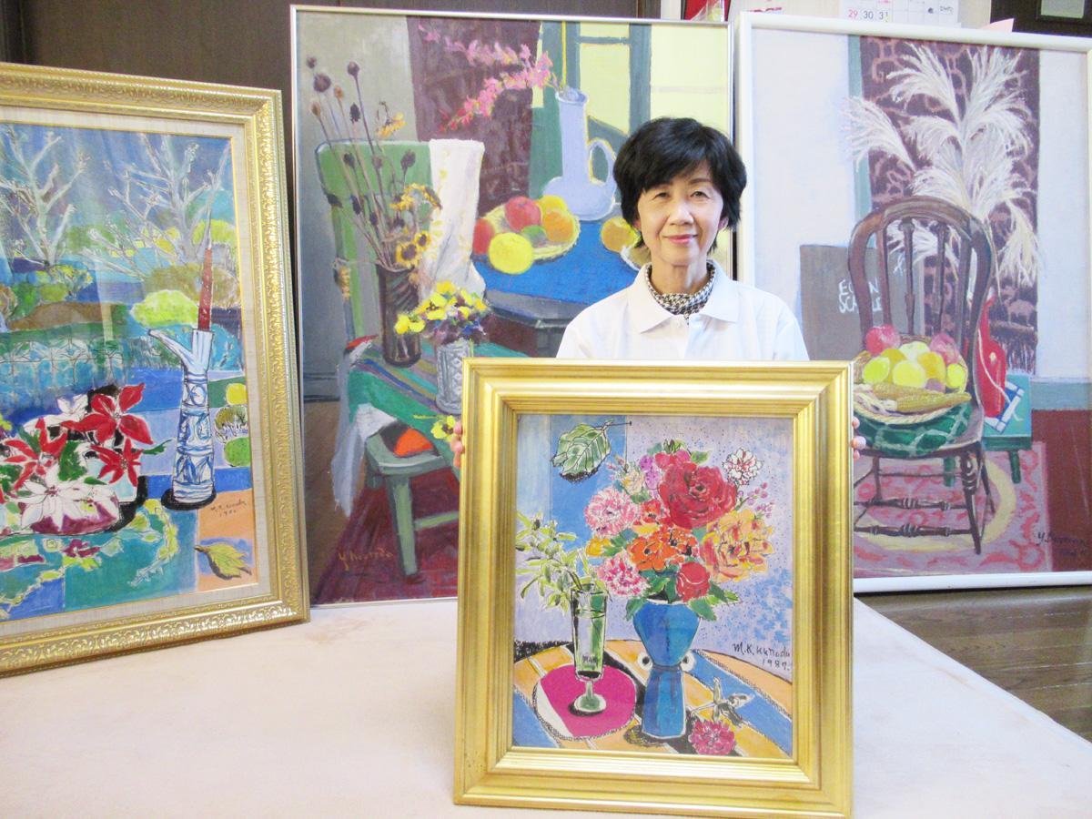 「自分が本当に好きだと思ったものを貸し出ししている」と横山敬子さん