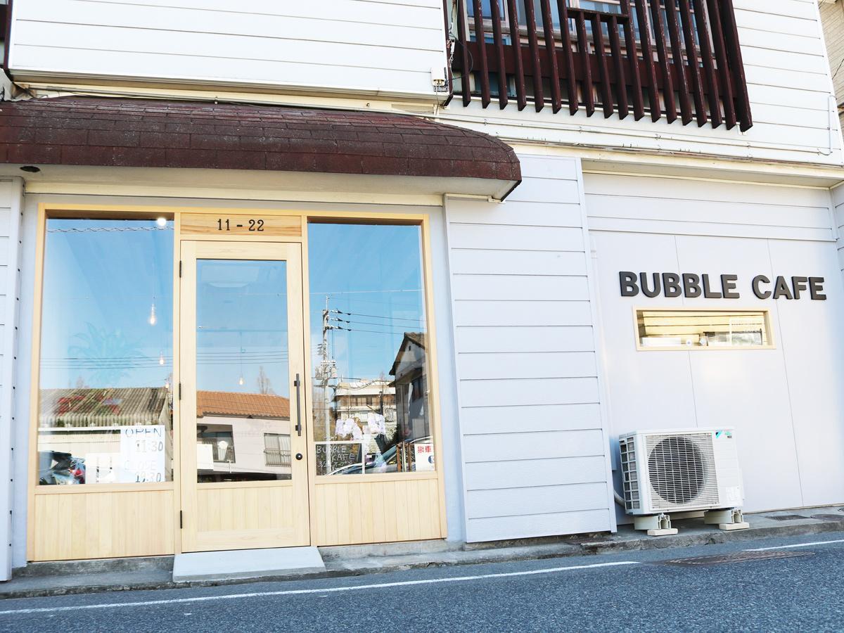 宇部・新川に「バブルカフェ」 生クリームドリンク提供、店主「若者集う店に」