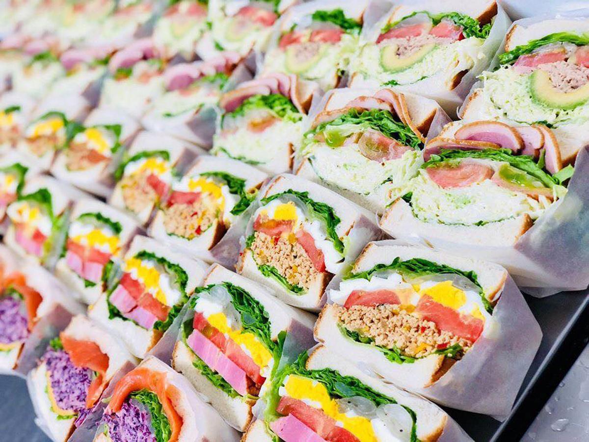 ピクルス専門店「萩野菜ピクルス 山口店」が提供するサンドイッチ(写真提供=萩野菜ピクルス)