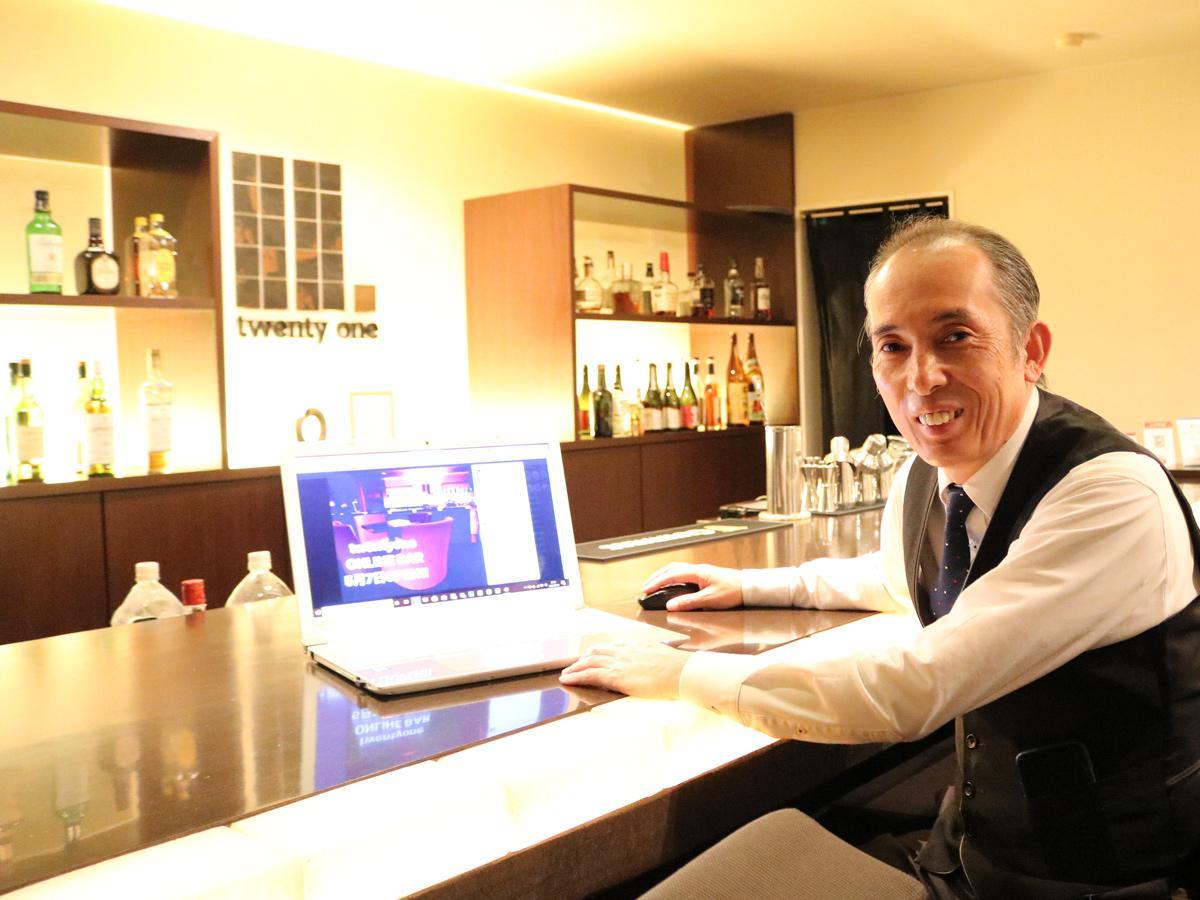 「オンラインでのパーティーやイベントも企画していきたい」と渡辺竜也さん