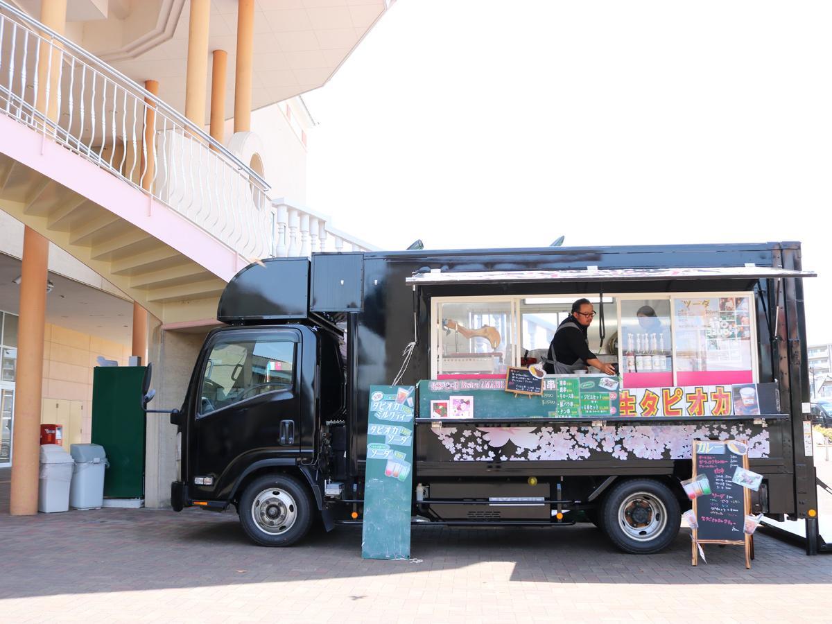 山陽小野田に走るレストラン「アマービレ」 移動販売でジビエ料理提供