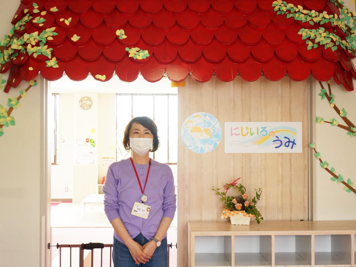活動5年目となる「なないろキッズ」の岡崎啓子代表