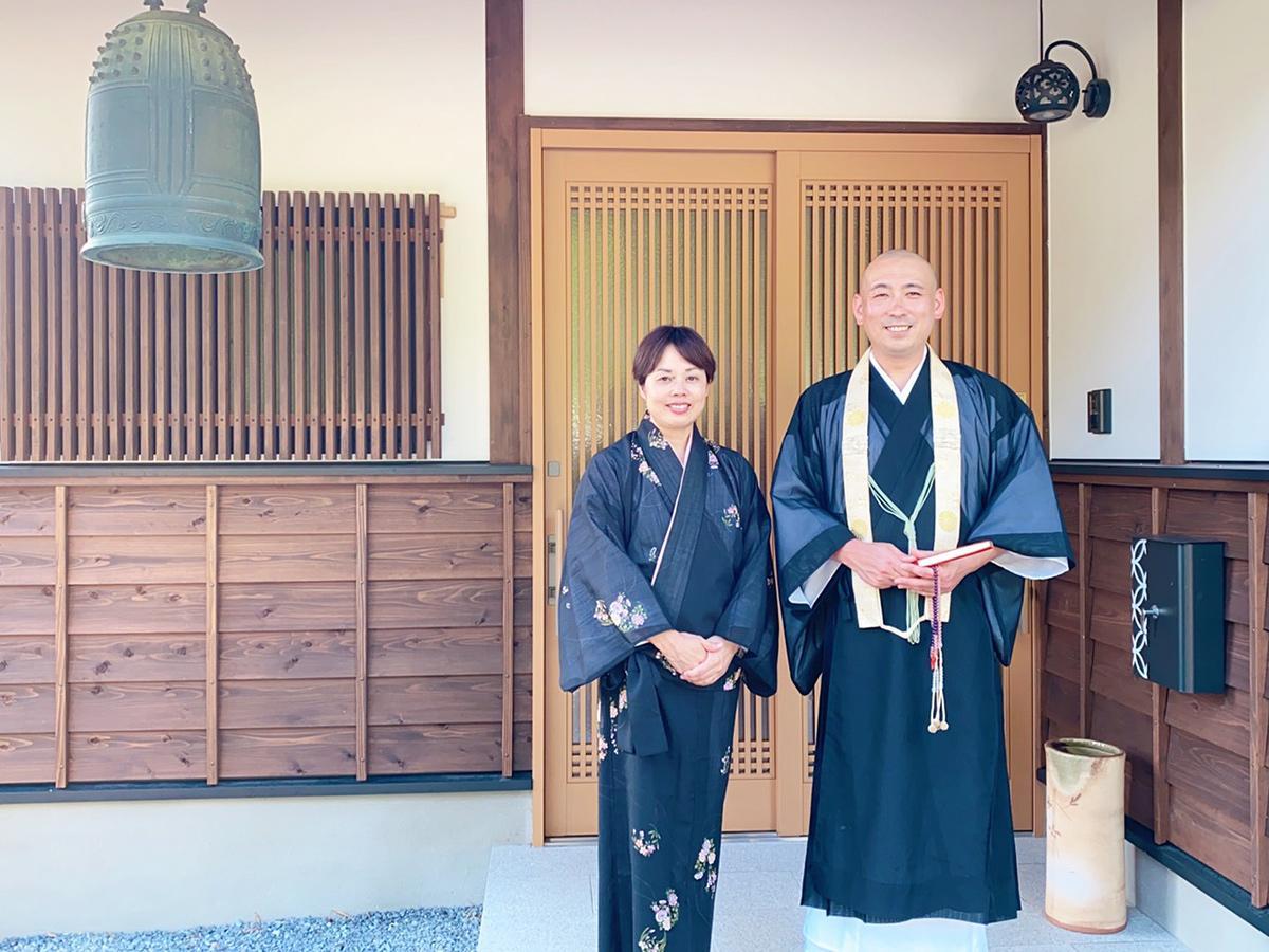 「寺は楽しい場所なんだと発見してもらいたい」と田立住職夫妻