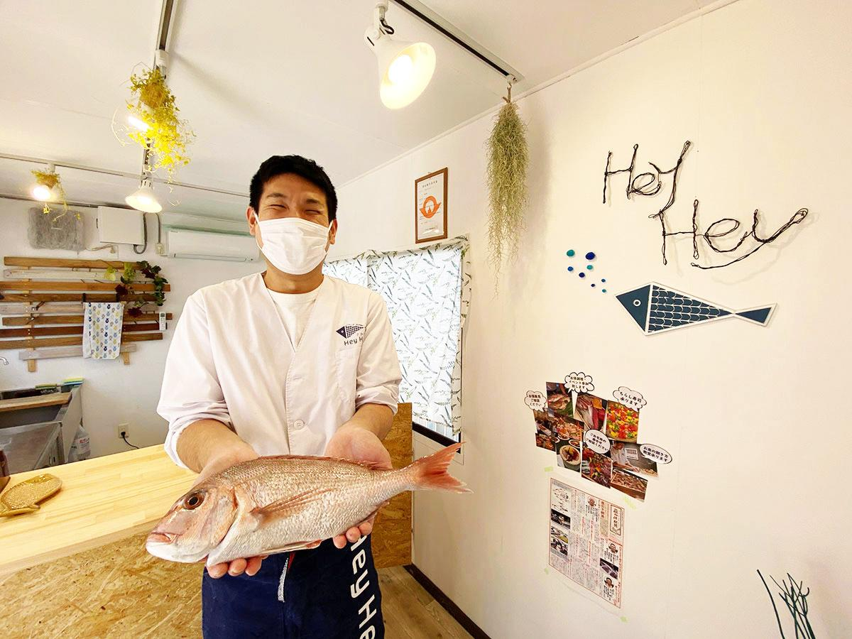 「魚を通じて食の体験を提供したい」と南山さん