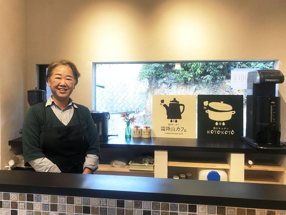 「こぢんまりとしたカフェでゆっくりしていただければ」と山田さん