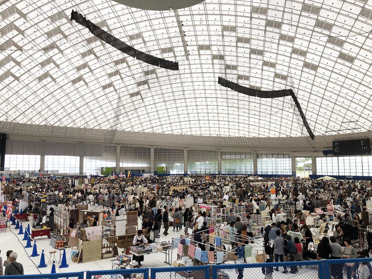 2019年に開かれた「山口きららハンドメイドマーケット」(写真提供=シトラスメイド)