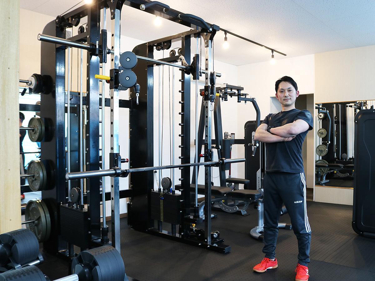 「寄り添った指導をしていきたい」とトレーナーの渡邉尚道さん