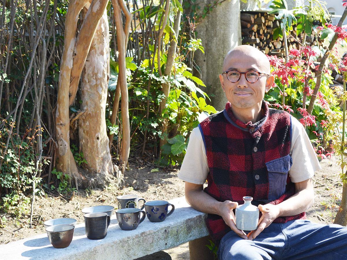 「のんびりと作り続けていきたい」陶芸家・今泉龍介さん