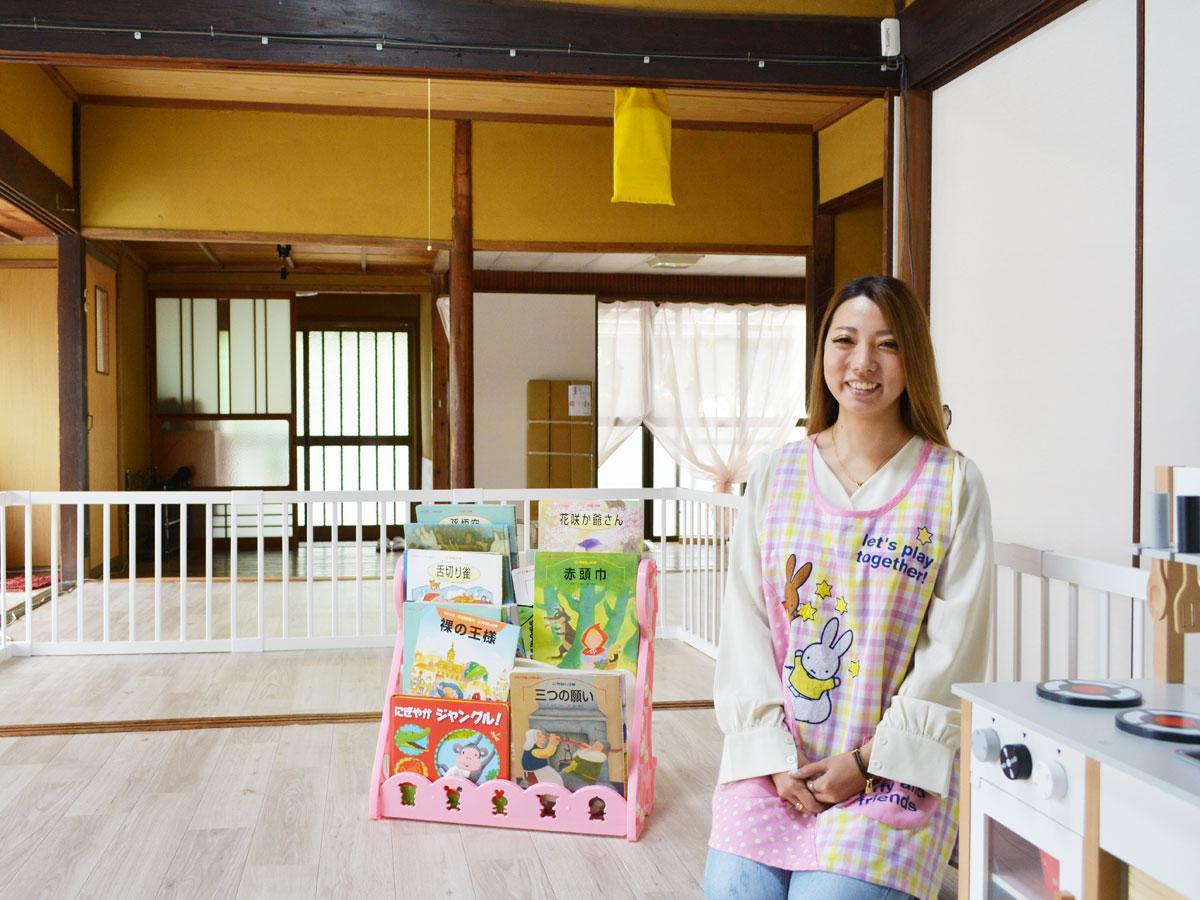 「子どもに関することだけでなく、気軽に相談してもらえたら」と和田施設長