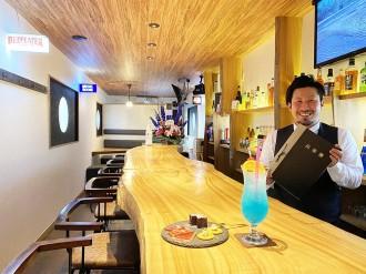 山陽小野田・日の出にバー「ティーチャー」 バーテンダーは元教師、地元で開業