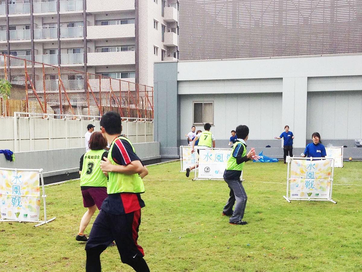 2016年に広島県福山市で行われた「第1回水風戦大会」の様子(写真提供=水風戦協会)