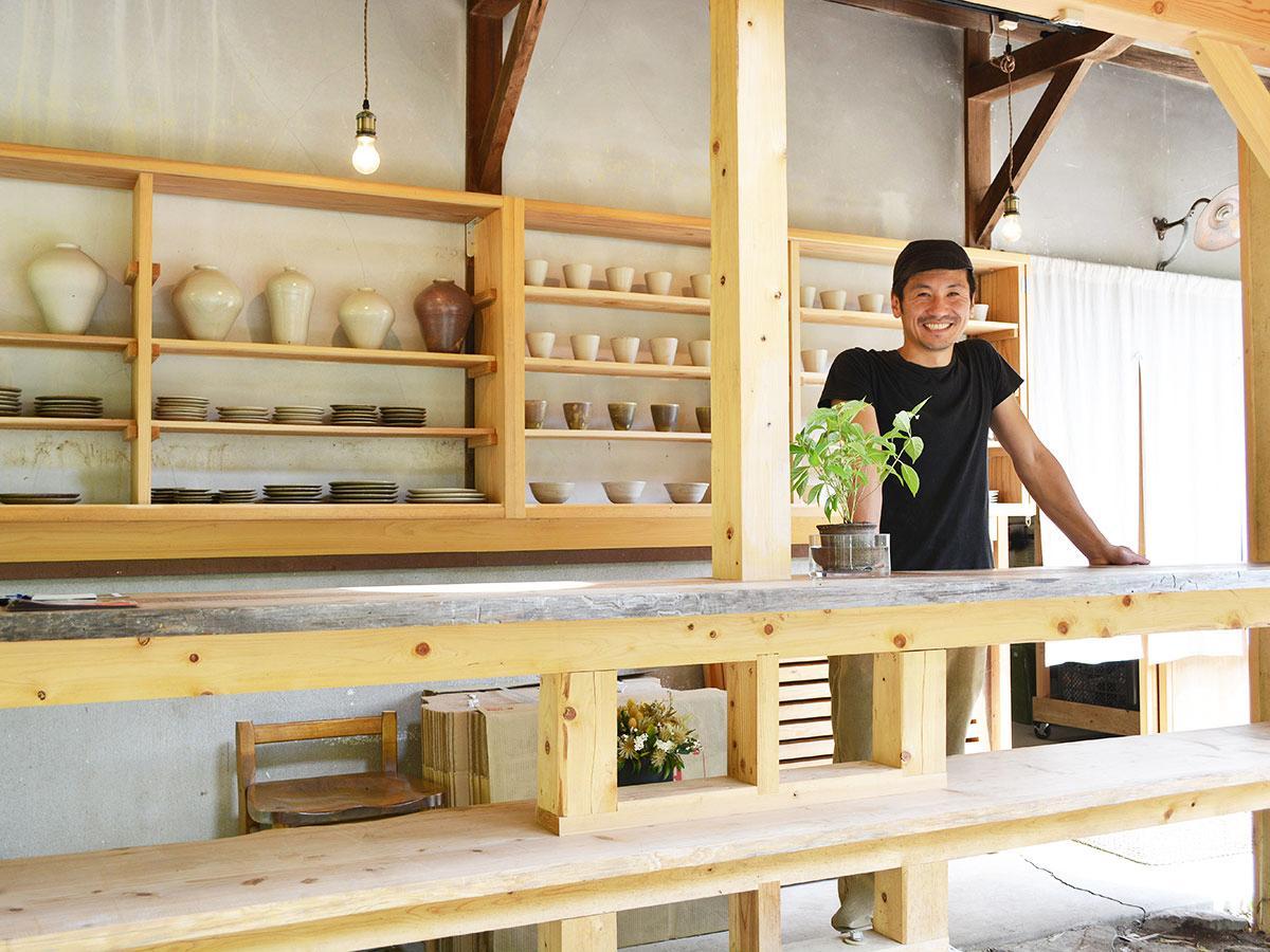 「この環境だからこそできるものをつくりたい」と舛井さん