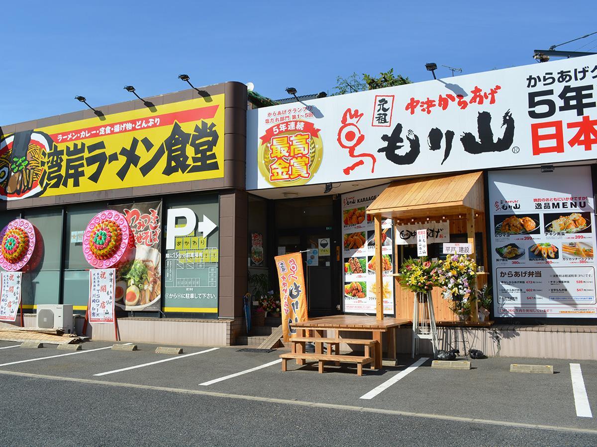 「湾岸ラーメン食堂」の一角にオープンした同店