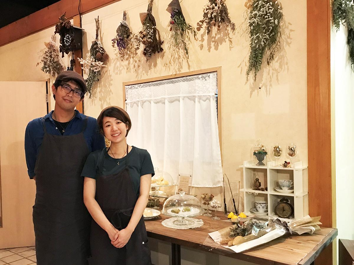 「ここでゆっくり過ごしてほしい」と話す上村武流さんと美樹さん