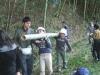 宇部で「都会と田舎の子供の交流事業」-学生耕作隊が運営