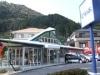 山口に関西風お好み焼き店-テラス席もあるモダンな空間が特徴