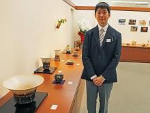 山口井筒屋で萩焼作家・田原崇雄さん個展 作陶10年の節目、県内初開催