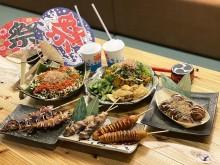 宇部の焼き鳥店「花火」が料理で夏祭り演出 新型コロナによる祭り中止受け