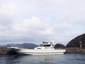 長門に遊漁船「松風」 宇部出身男性が脱サラ開業、父の思い継ぎ海原へ