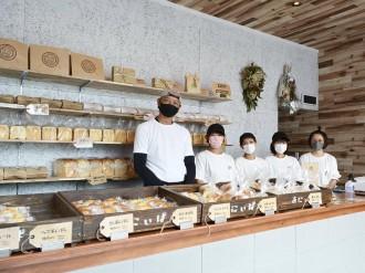 宇部にパン店「あにぃぱん」 地元企業が新業態、「森のパン屋さん」のライ麦パン継承