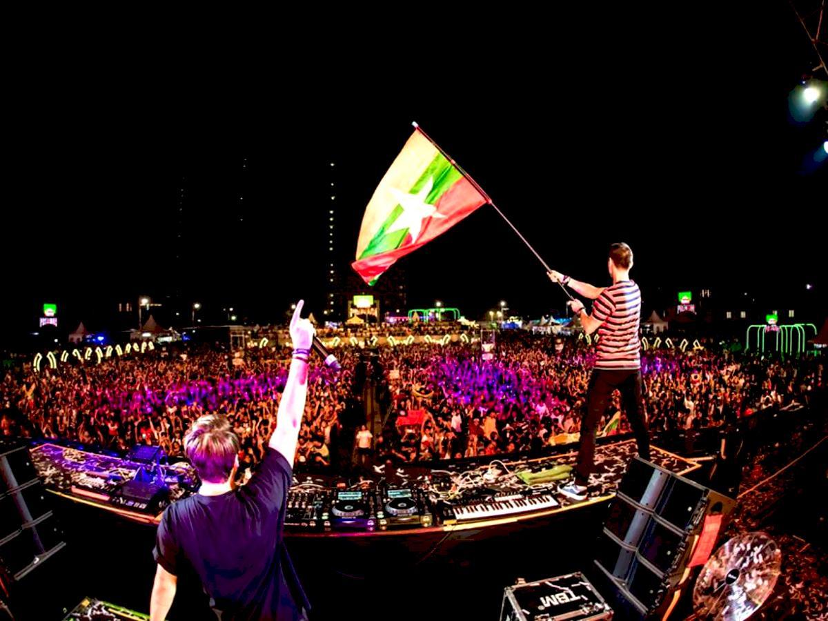 昨年の「808 Festival Yangon」