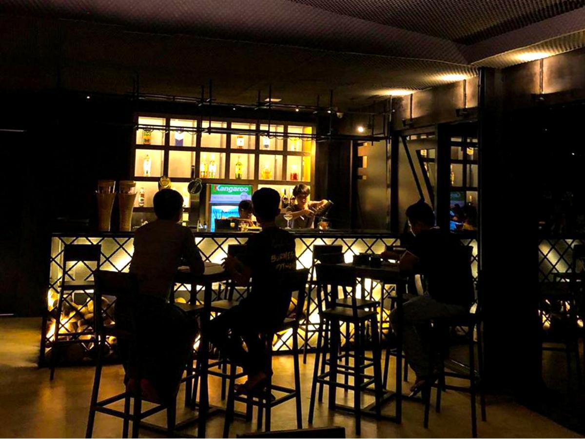 「Bar De 3」の外観