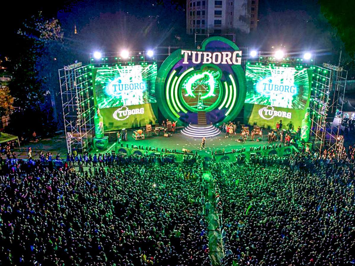 昨年の「Tuborg Open Yagon Music Festival」