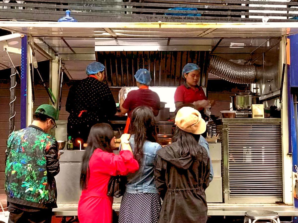 「Mobile Street Food」の様子
