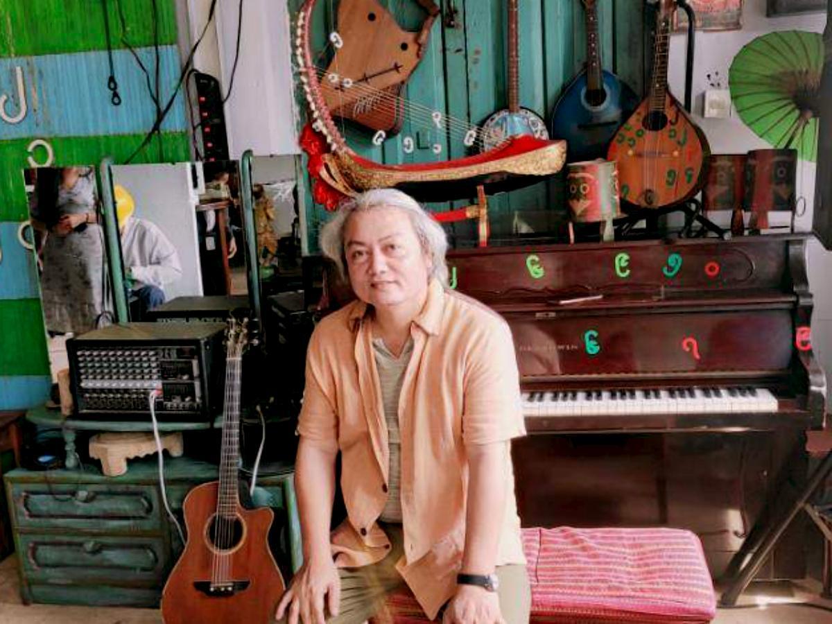 オーナーのAung Soe Minさん
