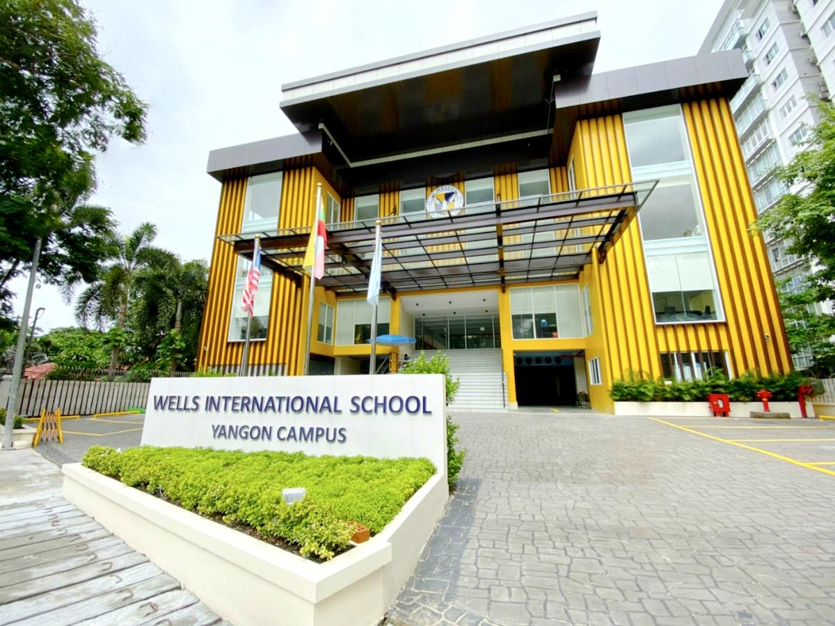「Wells International School」の外観