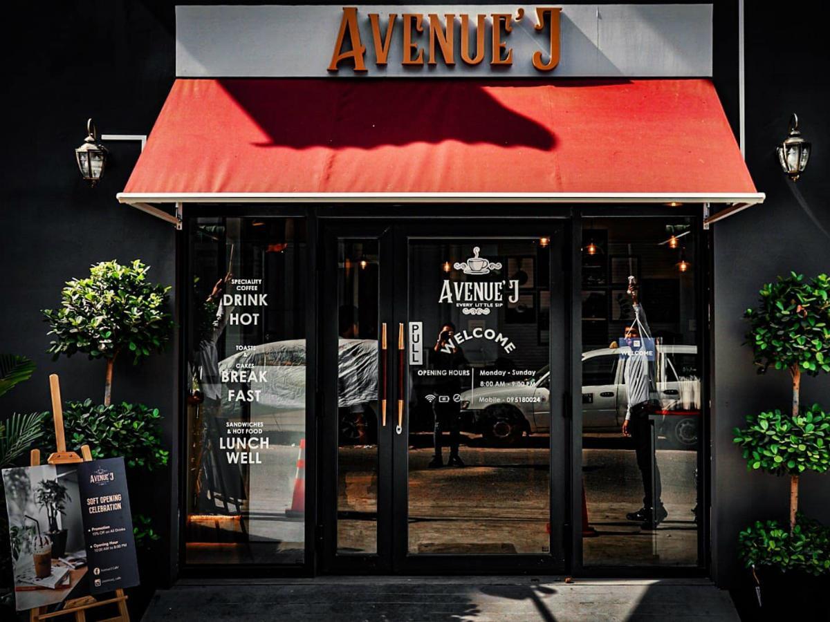 「Avenue'J Cafe」の外観