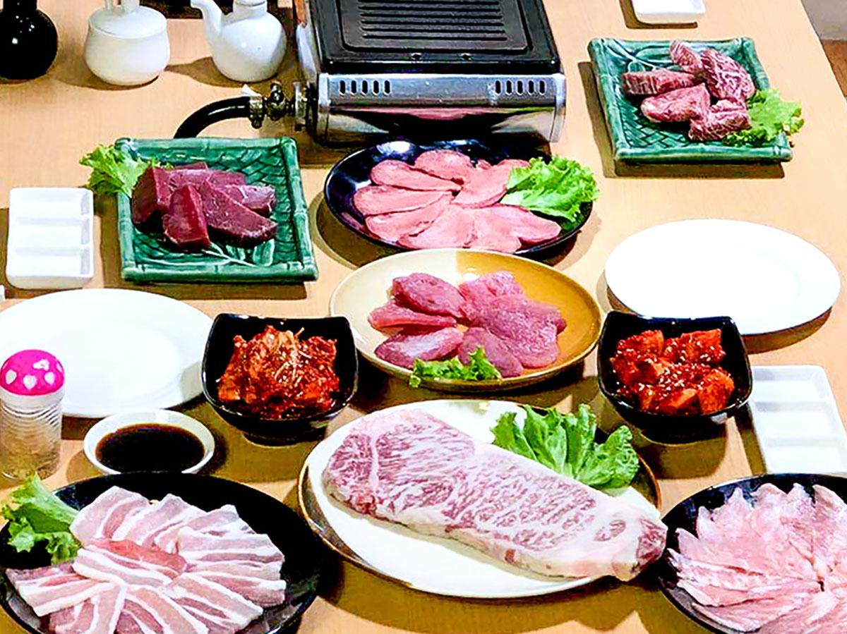 「111 Japanese BBQ, Grill and Bar」の料理