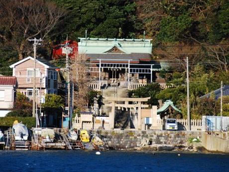 横須賀・浦賀には「願いごとをかなえる」叶神社が東西に2つある。写真は海に面した東叶神社。