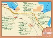 横須賀の若手飲食店店主らがオリジナルマップ発行-観光客へPR