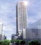 横須賀中央・大滝町に建設が予定される38階建ての高層マンション(イメージ図)