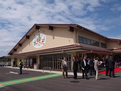 6月2日にグランドオープンする大型農産物直売所「すかなごっそ」