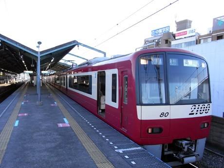 夏の節電対策で、運転本数を削減する京急久里浜線