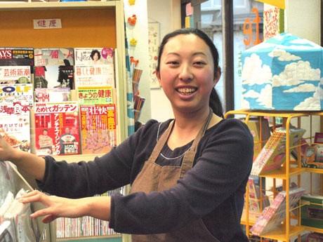 横須賀・上町商店街、就労支援「はるかぜ書店」店長の石井利衣子さん