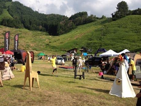 城ヶ島で「STEP CAMP」開催。アウトドア遊園地「フィールドZOO」のイメージ