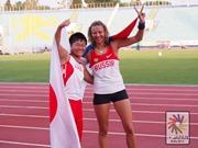 デフリンピック初出場、17歳・佐藤選手が銀メダル-横須賀ろう学校、師弟でWメダル