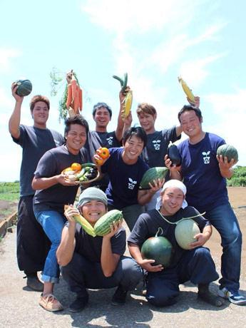 横須賀の若手農家チーム「若耕人's」が横須賀野菜の魅力を語る