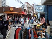 横須賀、基地周辺で「ドブ板バザール」始まる 地元グルメフェアも