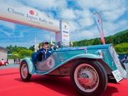 三浦半島をクラシックカーで走る「Classic Japan Rally」 欧州車など55台集合