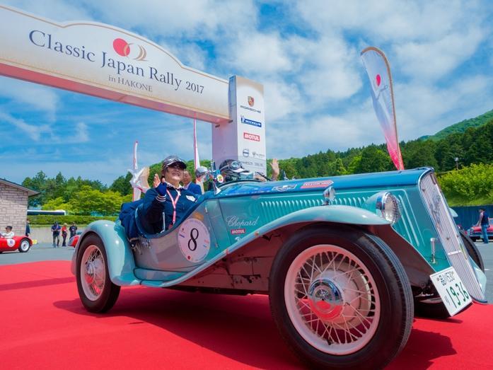 クラシックカーが一般道を走行する「Classic Japan Rally」(前回の様子)