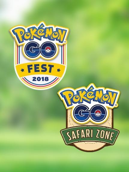 「ポケモンGO サマーツアー 2018」のビジュアル。©2018 Niantic, Inc. ©2018 Pokemon.